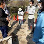 麻溝公園 風のガーデン 植栽作業11